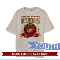 _T-Shirt (Youth): 2015 Marine Corps Birthday