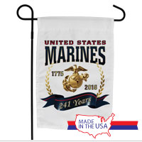 Garden Flag: Marine Corps Birthday 2016