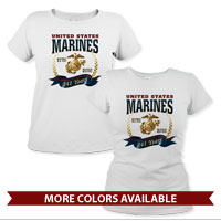_T-Shirt (Ladies): Marine Corps Birthday 2016