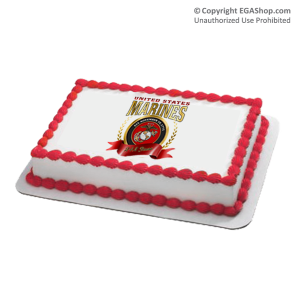 Topper marine corps birthday 2017 cake topper marine corps birthday 2017 bookmarktalkfo Gallery