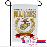 Garden Flag: 2018 Marine Corps Birthday