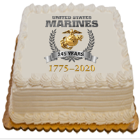 Cake Topper: Marine Corps Birthday 2020