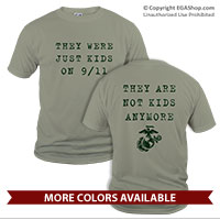 _T-Shirt (Unisex): They Are Not Kids Anymore - 9/11