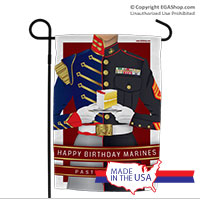 Garden Flag: Marine Corps Birthday