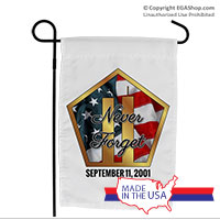 Garden Flag: Never Forget 9/11