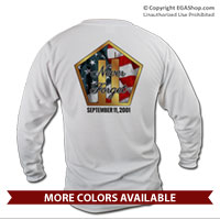 _Long Sleeve Shirt (Unisex): Never Forget 9/11