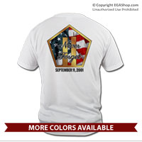 _T-Shirt (Unisex): Never Forget 9/11