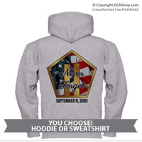 _Sweatshirt or Hoodie: Never Forget 9/11