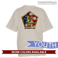 _T-Shirt (Youth): Never Forget 9/11