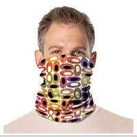 Gaiter Face Mask: Retro Designs