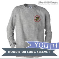 _Youth Hoodie or Long Sleeve Shirt: Puller Hall