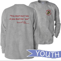 _Youth Long Sleeve Shirt: Puller Hall