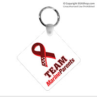 Key Chain: Team Marine Parents