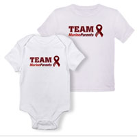_T-Shirt/Onesie (Toddler/Baby): Team Marine Parents
