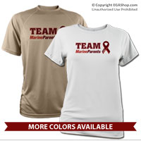 _Performance Shirt: Customizable Team Marine Parents