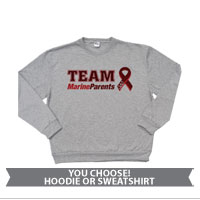 _Sweatshirt or Hoodie: Team MarineParents