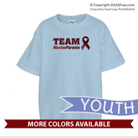 _T-Shirt (Youth): Team Marine Parents