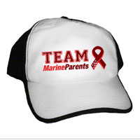 Cap (Black): Team MarineParents