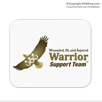 Mousepad: WII Warrior Support Team