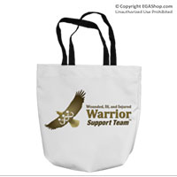 Tote Bag: WII Warrior Support Team