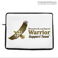 Laptop/Tablet Sleeve: WII Warrior Support Team