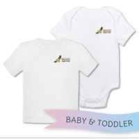 _T-Shirt/Onesie (Toddler/Baby): WII Warrior Support Team