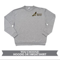 _Sweatshirt or Hoodie: WII Warrior Support Team