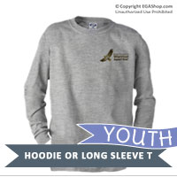 _Youth Hoodie or Long Sleeve Shirt: WII Warrior Support Team