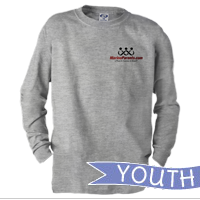 _Youth Long Sleeve Shirt: MarineParents.com