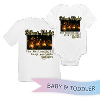 _T-Shirt/Onesie (Toddler/Baby): Silent Night