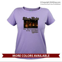 _T-Shirt (Ladies): Silent Night