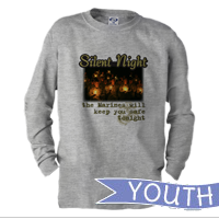 _Youth Long Sleeve Shirt: Silent Night