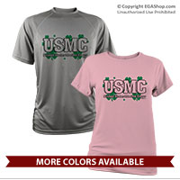 _Performance Shirt: USMC Shamrocks