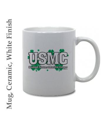 Mugs & Steins: USMC Shamrocks