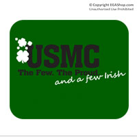 Mousepad: The Few, The Proud, and a Few Irish