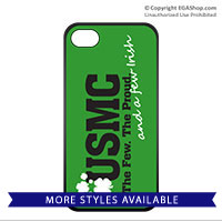 Cell Phone Cover: The Few The Proud and a Few Irish
