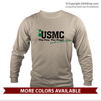 _Long Sleeve Shirt (Unisex): Few, Proud, and a Few Irish