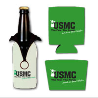Beverage Insulator: The Few The Proud and a Few Irish(Can, Bottle or Coffee)