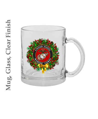 Mugs & Steins: USMC Seal Wreath