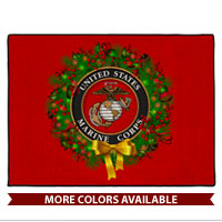 Doormat: USMC Seal Wreath