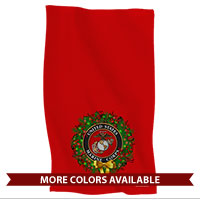 Hand Towel: USMC Seal Wreath