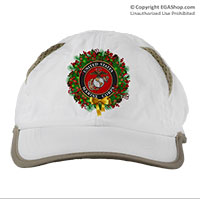 Cap: USMC Seal Wreath