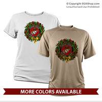 _Performance Shirt: USMC Seal Wreath