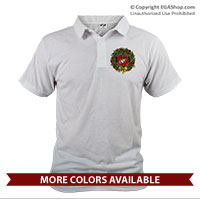 _Polo: USMC Seal Wreath (Unisex)