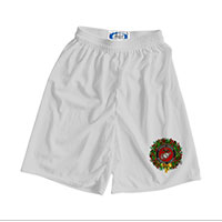 _Athletic Shorts: USMC Seal Wreath (Unisex)