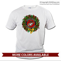 _T-Shirt (Unisex): USMC Seal Wreath