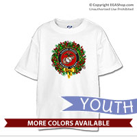 _T-Shirt (Youth): USMC Seal Wreath