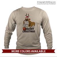 _Long Sleeve Shirt (Unisex): Semper Fido Christmas