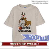 _T-Shirt (Youth): Semper Fido Christmas