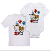 _T-Shirt/Onesie (Toddler/Baby): Semper Fido New Years